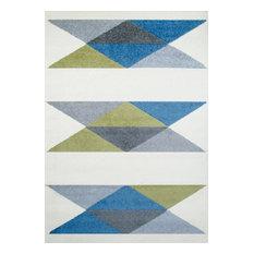 Geometric Children's Rug, 120x170 cm
