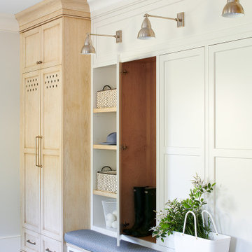 New Hope Mudroom and Laundry Room