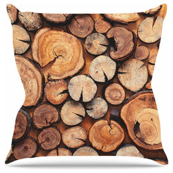 Rustic Outdoor Cushions And Pillows by KESS Global Inc.