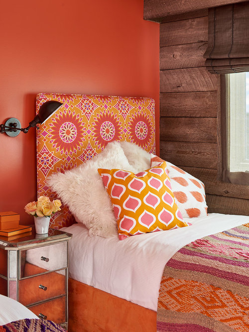 Idee deco chambre adulte orange