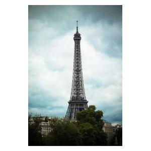 24X36 Wild Apple Le Base De La Tour Eiffel Removable Wall Art Mural