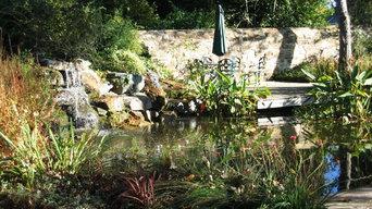 jardin d'eau au naturel