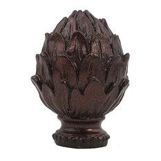"""Urbanest Artichoke Lamp Finial, 2"""", Oil-Rubbed Bronze"""