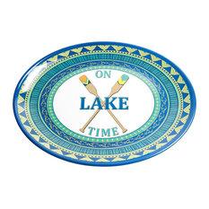 Galleyware On Lake Time Melamine Oval Platter