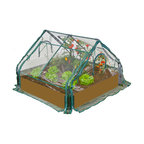 Extendable Cold Frame Greenhouse