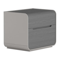 Senses Bedside Table, Grey Ash, Small