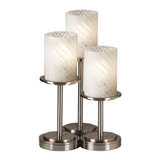 Justice Design Group FSN-8797-10-WEVE Fusion Table Lamp