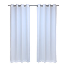Thermal Insulated Grommet Top Single Panel Window Curtain Drape Coffee 50x96 PREMIUMA Outdoor Curtains for Patio Waterproof