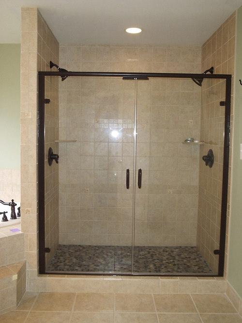 Semi-Frameless Showers - Shower Doors