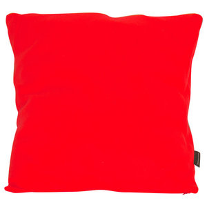 Oldschool Square Scatter Cushion, Red
