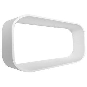 Medium White Diamond Shelf