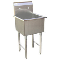 """18""""x18"""" Commercial Grade Stainless Steel Laundry and Garage Sink"""