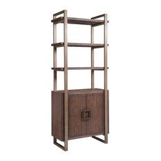 Vertex Bookcase, Marrone
