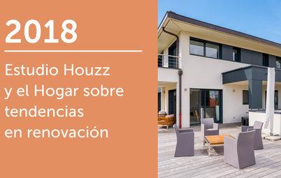 Estudio Houzz y el Hogar sobre tendencias en renovación 2018