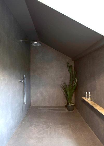 Лофт Ванная комната by JUNG&KLEMKE Architektur und Innenarchitektur GmbH