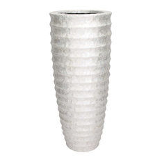 Riley Capiz Vase, 48""