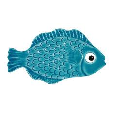 Ceramic Tile Designs, Mini Tropical Fish, Aqua