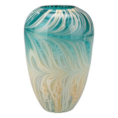 Moe's Home Collection - Array Vase, Teal - Vases