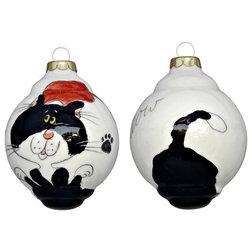 Contemporary Christmas Ornaments by Elias Ceramics
