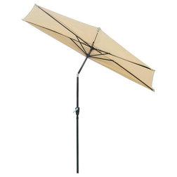 Contemporary Outdoor Umbrellas by Yescom