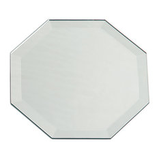 octagon bathroom mirror octagonal bathroom mirrors houzz 13837