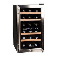 "Koldfront TWR187E 14"" Wide 18 Bottle Wine Cooler"