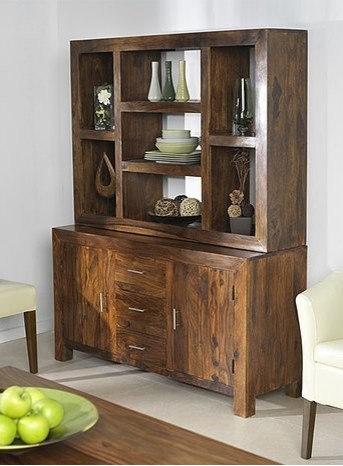 Cuba Sheesham Multishelf Dresser