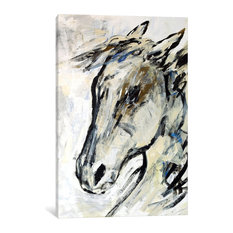 """Picasso's Horse II"" Print by Julian Spencer, 18""x12""x1.5"""