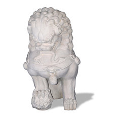 Foo Dog Statue, Limestone