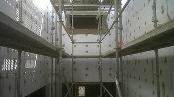 Obra nueva en Moraleja (Cáceres) con sistema SATE Baumit Prosystem