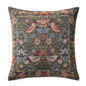 "Birds Face to Face II French Cushion, 19""x19, Cushion"