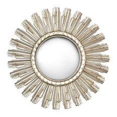 Sundial Mirror, Gold, 90x90 cm