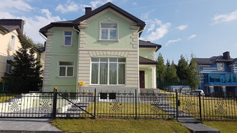 Дом фасад