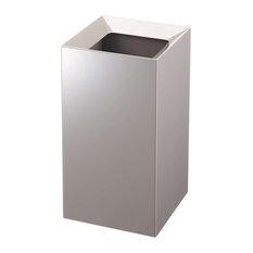 Veil Trash Can, Grey