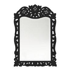 Howard Elliott St. Agustine Mirror, Black
