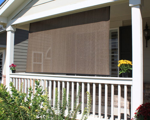 Exterior Solar Screen Shades Or Porch Shades