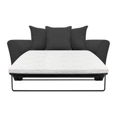 Westbridge Scatter Back Sofa Bed, Stirling Grey