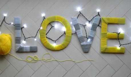 Fai da Te: Lettering d'Amore e Fili di Lana per S. Valentino