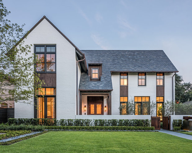 Houzz Tour: A Spacious New Home Marries Classic and Contemporary ...