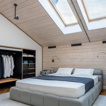 ИНТЕРЬЕР: Квартира двухуровневая с мансардой