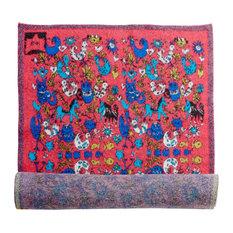 Little Hummingbird Wool Rug, 90x220 cm