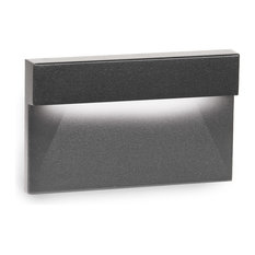 LED Low Voltage Horizontal LED Low Voltage Step and Wall-Light 2700K, Black