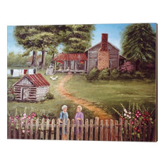 """""""The Blanton Place"""" Canvas Wall Art by Arie Reinhardt Taylor, 16""""x13"""""""