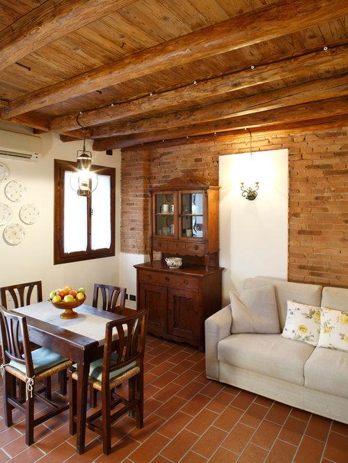 Foto e idee per sale da pranzo sala da pranzo in campagna - Foto sala da pranzo ...
