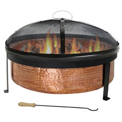 Rustic Fire Pits by Serenity Home and Health Decor