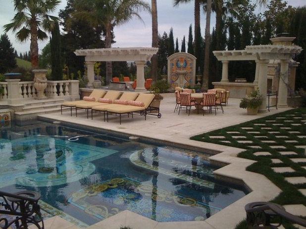 Mediterranean Pool by Christopher Lines Design