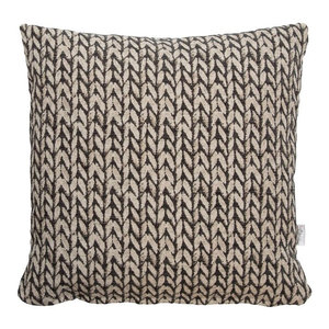 A.U. Maison Wheat Cushion Cover, Grey, 45x45 cm