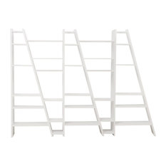 Delta 005 Bookcase Pure White