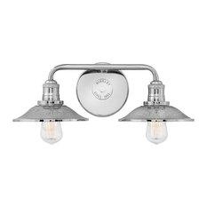 Bath Rigby Bath 2-Light, Polished Nickel