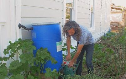 Houzz Call: Show Us Your Backyard Rain Barrel
